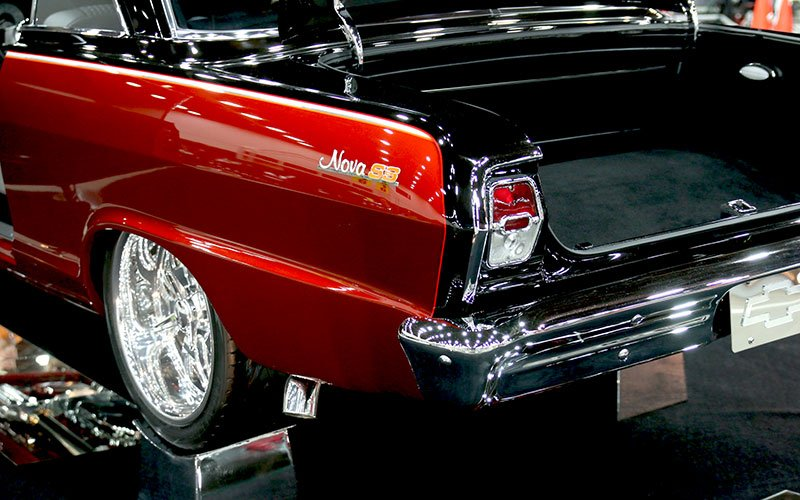 1963 Chevy Nova 2-Door Hardtop among the Top Show Cars
