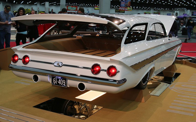 1961 Chevy Impala Great 8 at 2016 Detroit Autorama