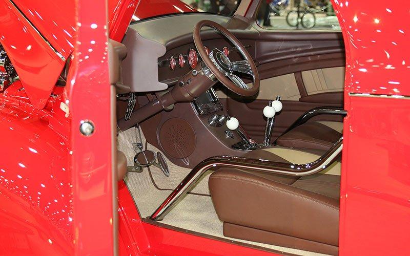 1940 Willys Pro Street Great 8 winner at 2016 Detroit Autorama