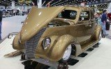 1937 Ford Deluxe Coupe Great 8 at 2016 Detroit Autorama