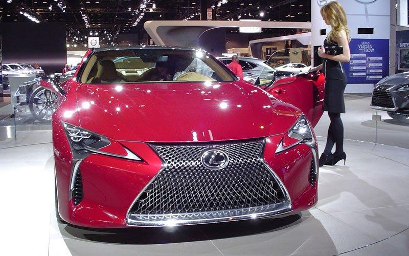 Chicago Auto Show 2017 Lexus Lc 500