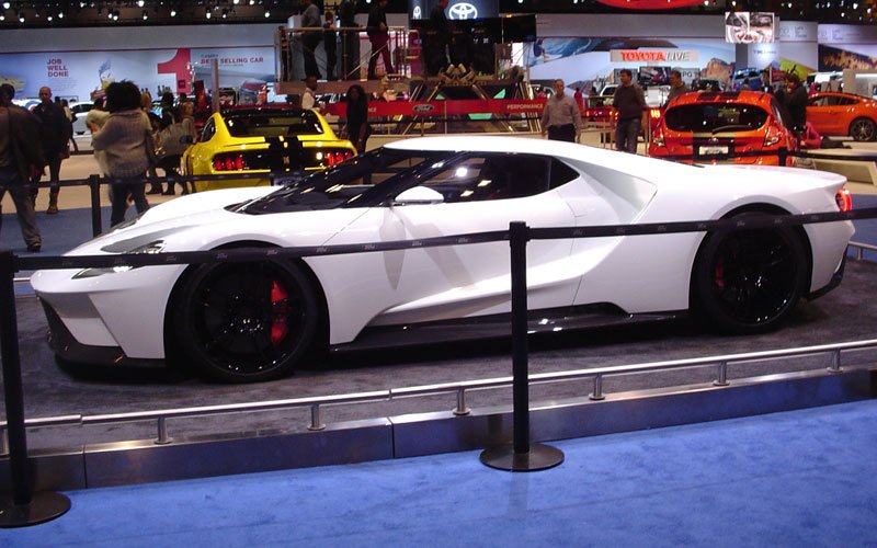 Chicago Auto Show Ford Gt 3