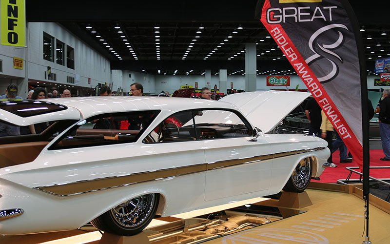 1961 Chevy 409 Double Bubble Station Wagon