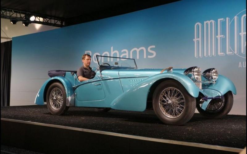 2016 Amelia Island Concours features 1937 Bugatti top sale at the Bonhams Auction