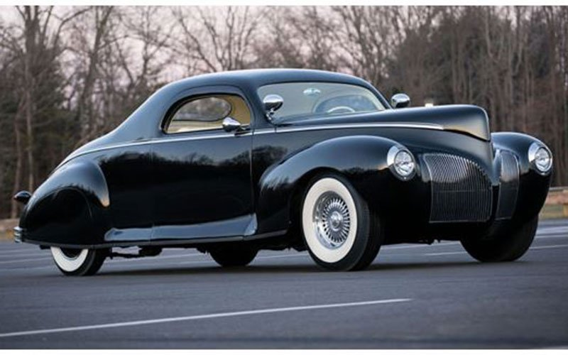 1940 Lincoln Zephyr to be auctioned off at Ft Lauderdale