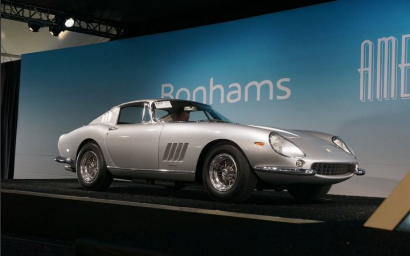 1967 Ferrari 275 GTB/4 crossed Bonhams auction block for $2,500,000 during 2016 Amelia Island Concours