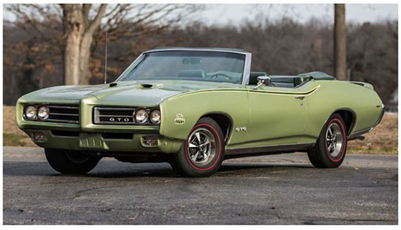 1969 GTO Judge Convertible at Ft Lauderdale Collector Car Auction