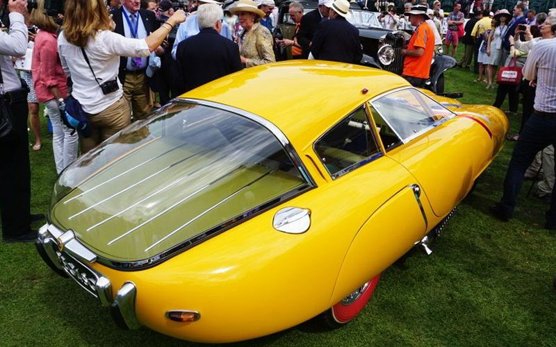 1952 Pegaso Z102 Cupula wins 2016 Amelia Island Concours