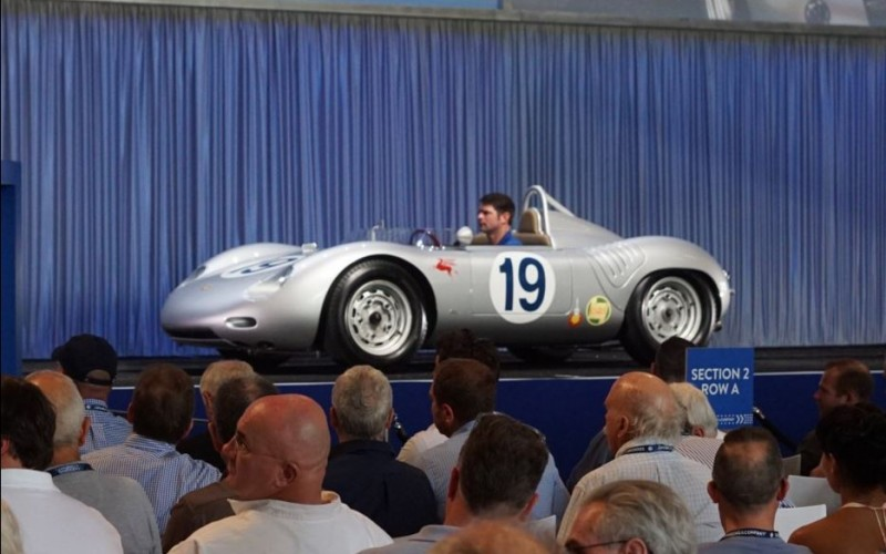 Seinfeld's 1959 Porsche 718 RSK sells for $2.6 million