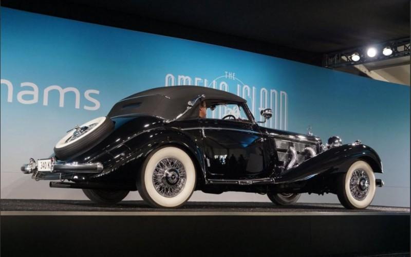 1937 Mercedes-Benz 540 K Cabriolet at 2016 Amelia Island Concours Bonhams Auction