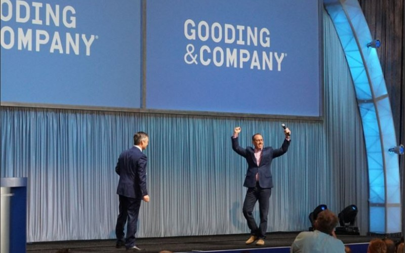 Jerry Seinfeld at the Gooding & Company Auction during the 2016 Amelia Island Concours