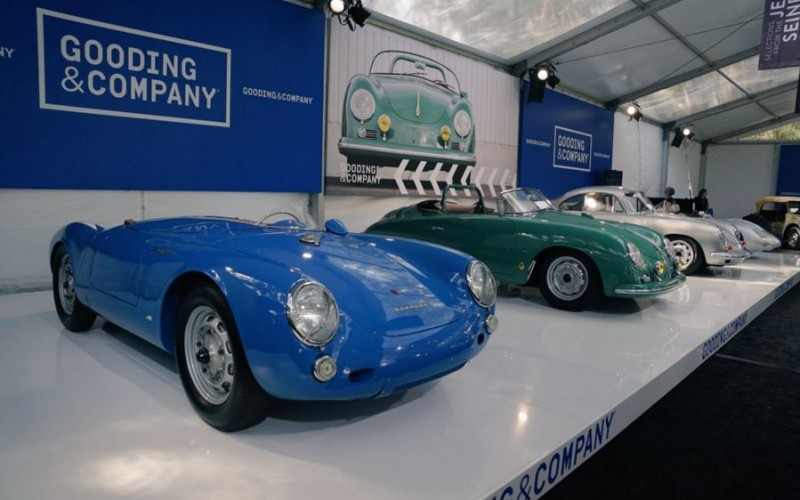 Jerry Seinfeld Porsche collection at the 2016 Amelia Island Concours