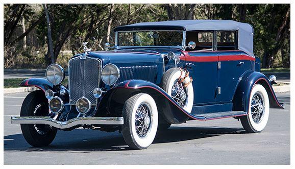 1931 Auburn 8-98 Phaeton