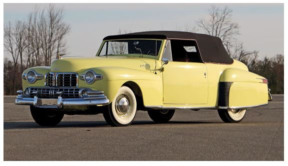 1946 Lincoln Continental Cabriolet