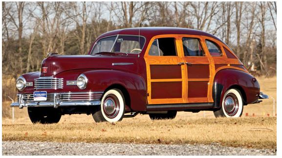 1948 Nash Ambassador Suburban Woodie