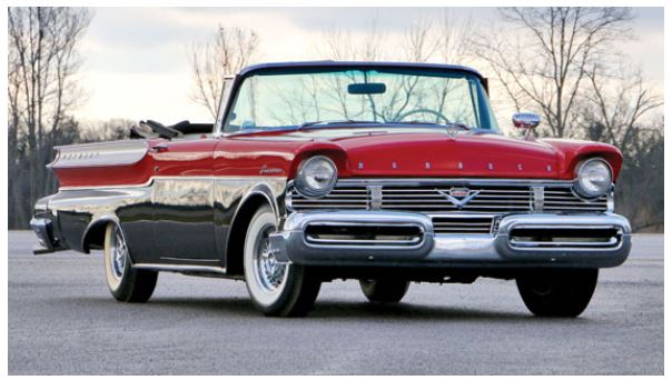 1957 Mercury Monarch Lucerne Convertible