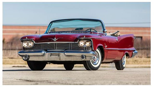 1958 Chrysler Imperial Convertible to be sold at Santa Monica Auction from the Duffy Grove Collection