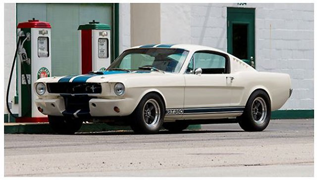 1965 Shelby GT350 will be sold at Santa Monica Auction