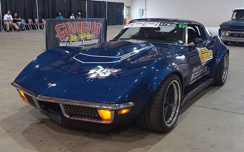 1972 Corvette wins Goodguys Autocross
