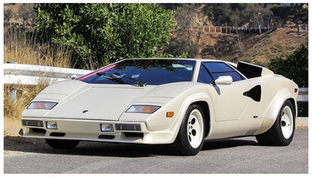1987 Lamborghini Countach for sale at the Santa Monica Auction