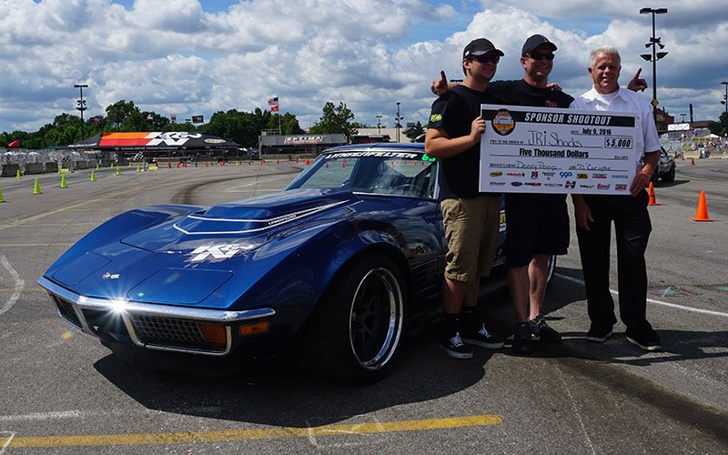 Goodguys Autocross winner JRI Shocks, with driver Danny Popp