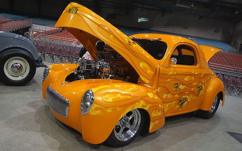 1941 Willys at Goodguys PPG Nationals in Columbus