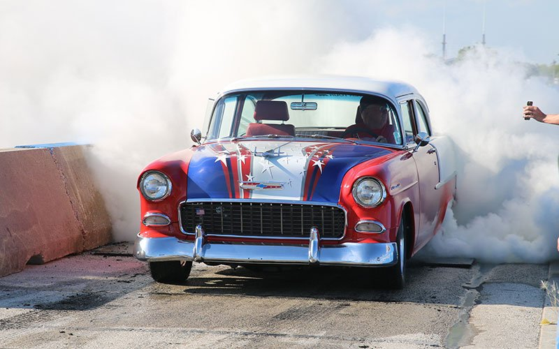 Car Craft Summer Nationals 2016 Burnout Contest