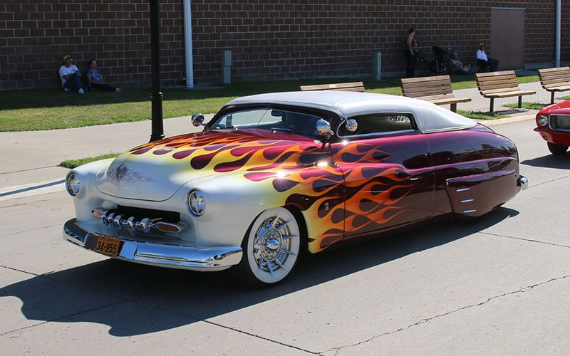 1949 Mercury Lead Sled at Goodguys 25th Heartland Nationals