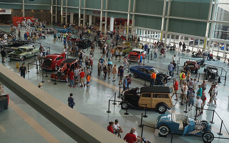 Builders' Showcase at NSRA 2016 Street Rod Nationals