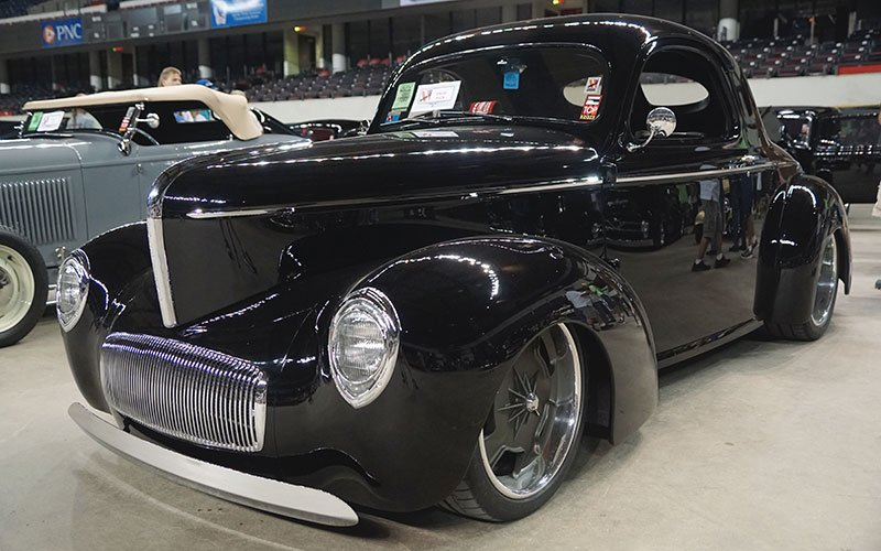 1941 Willys LS7  at NSRA 2016 Street Rod Nationals