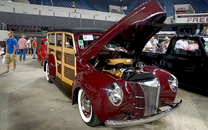 1946 Ford Woody Wagon honored at the NSRA 2016 Street Rod Nationals