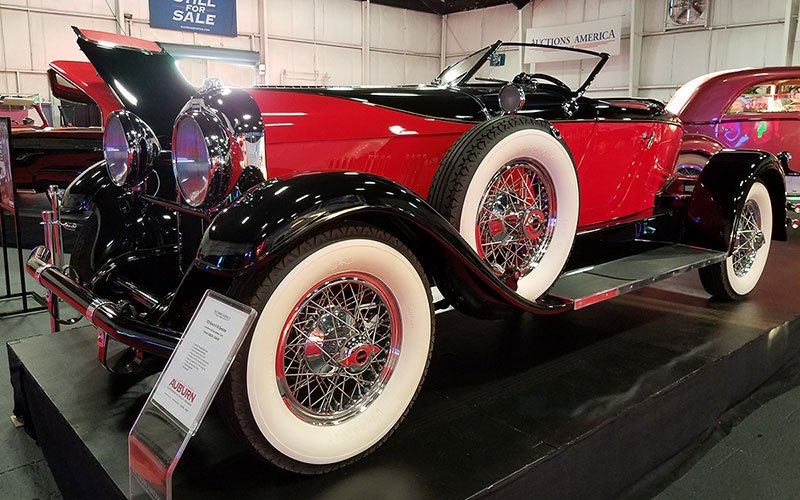 Auctions America's Fall Auburn Auction to sell this 1929 Auburn 8-90 Speedster