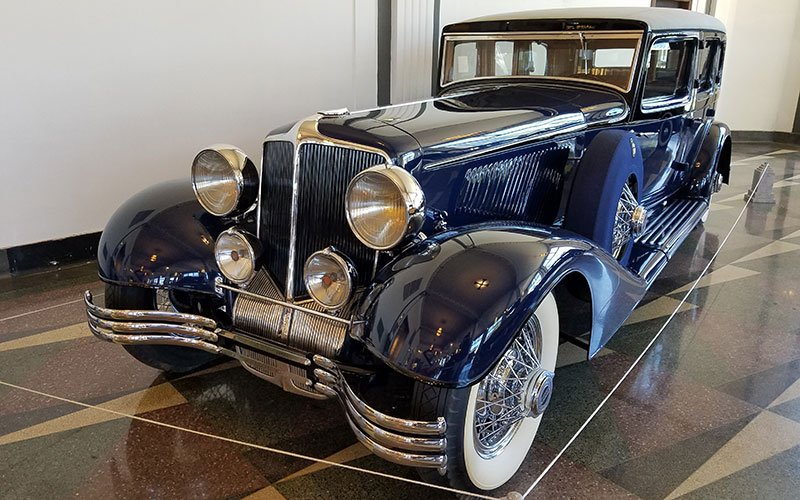 1932 Cord at the Auburn-Cord-Duesenberg Museum