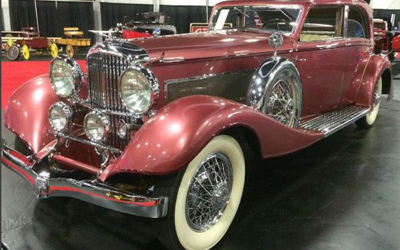 Auctions America's Fall Auburn Auction to sell this 1933 Duesenberg J Berline by Franay