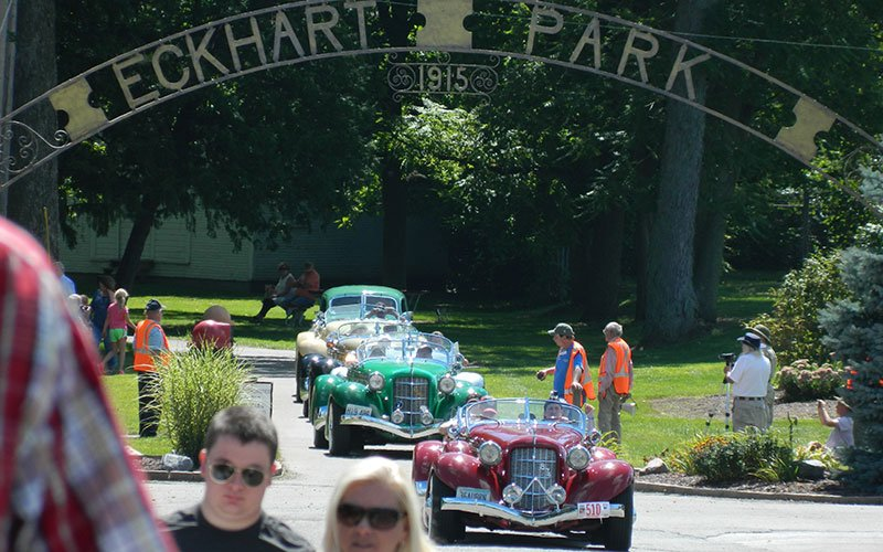 Auburn-Cord-Duesenberg Festival Parade