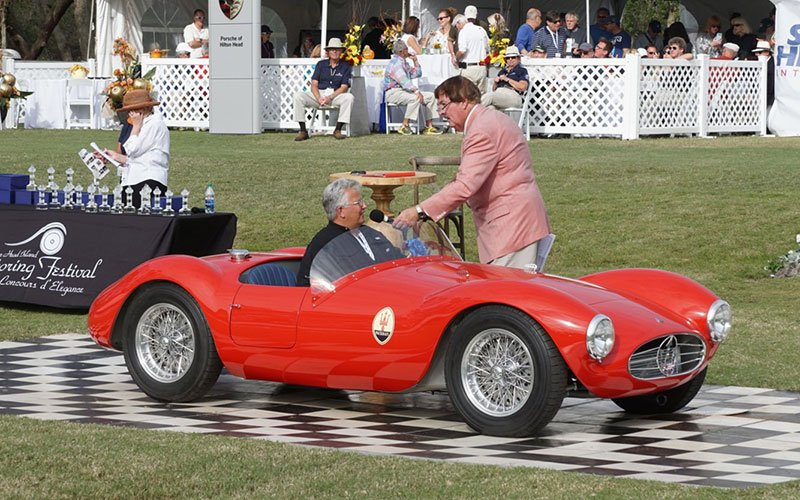 1953 Maserati wins Best of Show at 2016 Hilton Head Island Motoring Festival