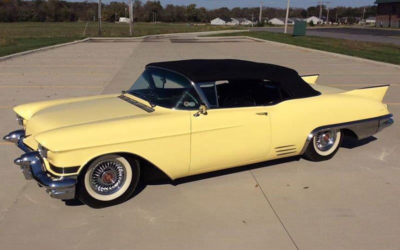 1957 Cadillac Series 62 Convertible at the 2017 Barrett-Jackson Auction