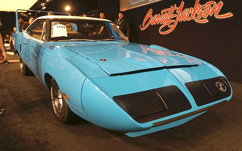 1970 Plymouth Superbird sells at the 2017 Barrett-Jackson Auction