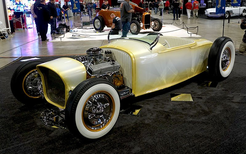 1927 Dodge Turtleback Roadster at 2017 Grand National Roadster Show