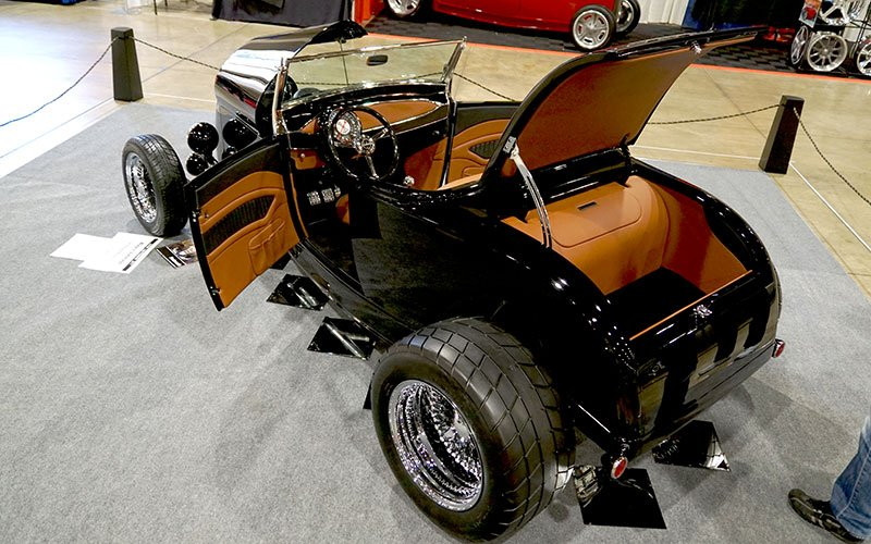 Wayne Johnson's 1929 Ford Roadster vies for 2017 Grand National Roadster AMBR award
