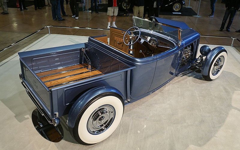 1932 Ford Roadster Pickup show car at 2017 Grand National Roadster Show