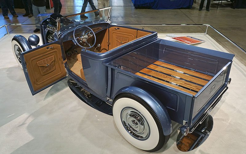Wood bed 1932 Ford Roadster Pickup 2017 Grand National Roadster Show