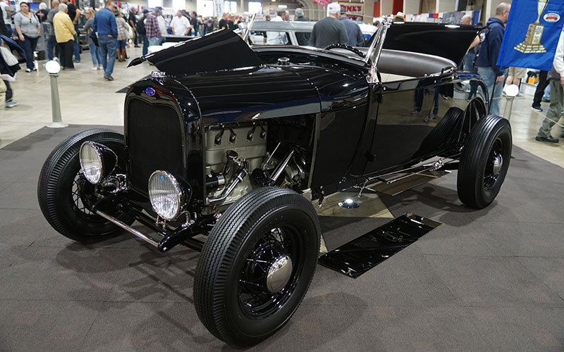 1932 Ford Roadster competes at the 2017 Grand National Roadster Show