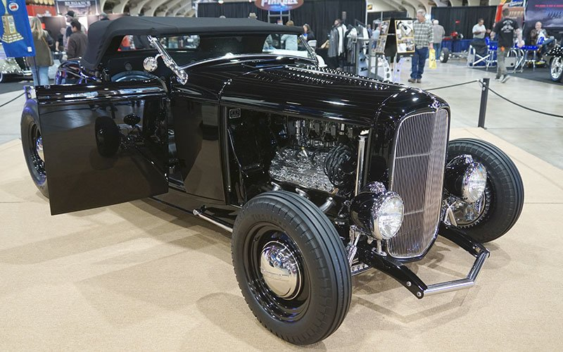 1932 Ford Roadster AMBR contender at 2017 Grand National Roadster Show