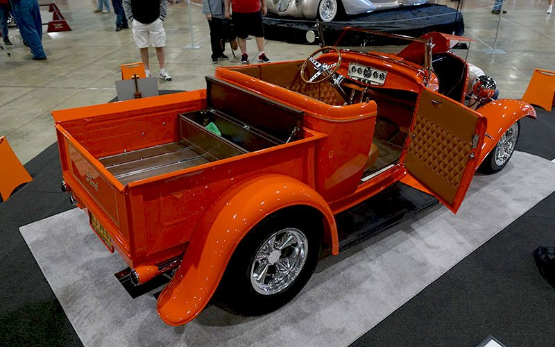 1932 Ford Roadster Pickup at 2017 Grand National Roadster Show