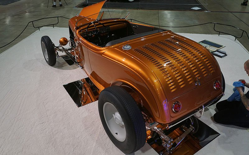 1932 Ford Roadster contends for AMBR at 2017 Grand National Roadster Show