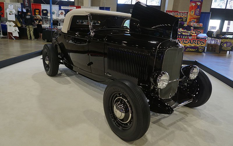 James Hetfield's 1932 Ford Roadster at 2017 Grand National Roadster Show