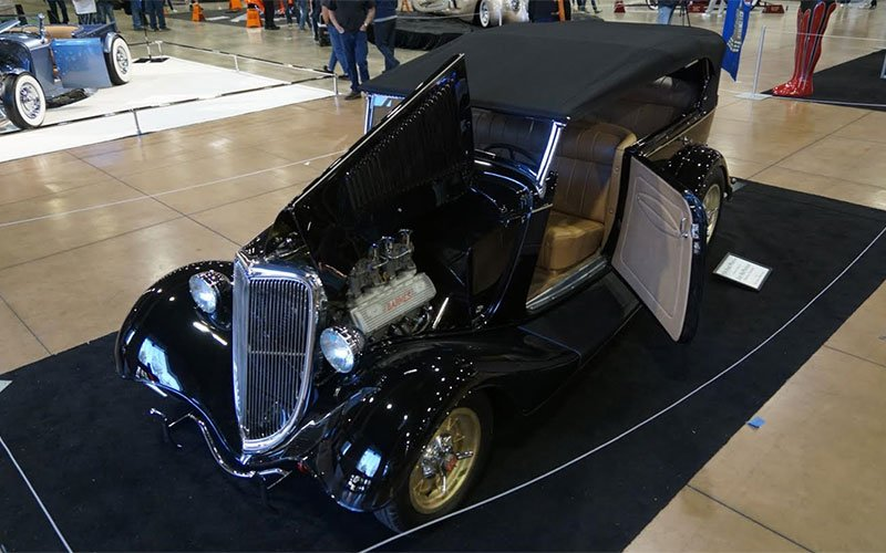 1934 Ford Phaeton at 2017 Grand National Roadster Show