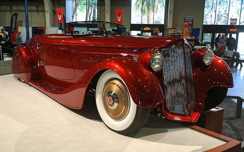 1936 Packard Roadster at the 2017 Grand National Roadster Show