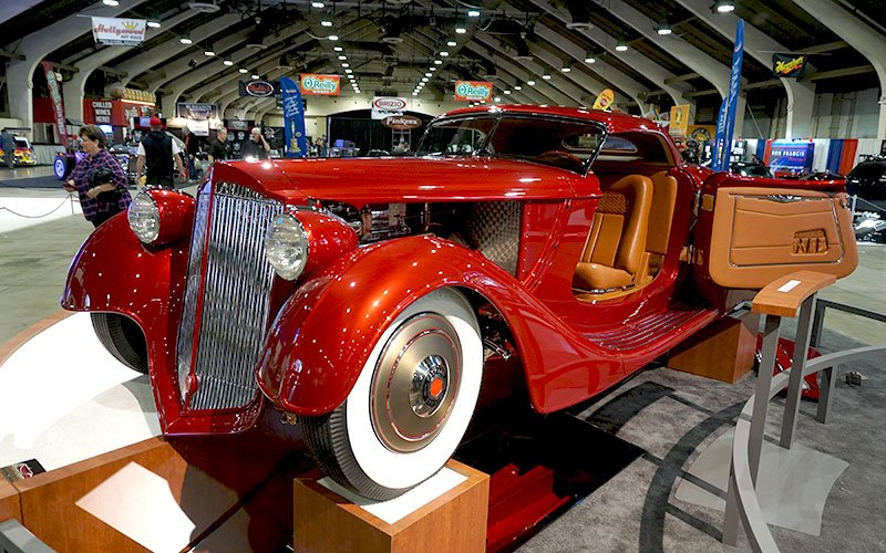 1936 Packard Roadster wins 2017 America's Most Beautiful Roadster award